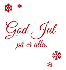 God Jul på er alla