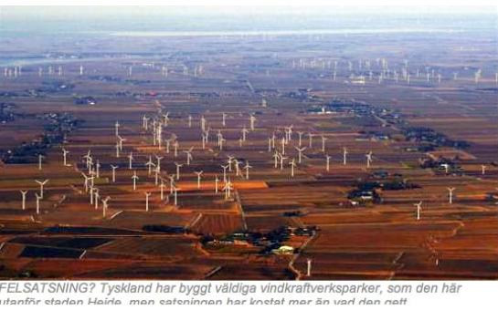Vindkraftverk Tyskland